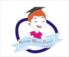 Logo Akademii Małych Pociech